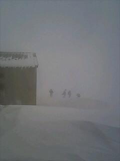 立山スキー断念